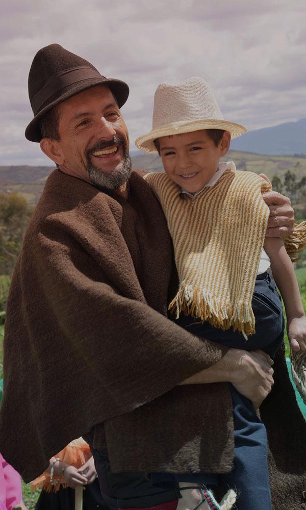 Abuelo con sobrino